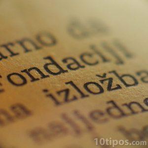 Acercamiento a las letras de un libro