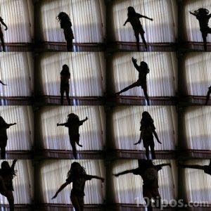 Secuencia de video de mujer bailando