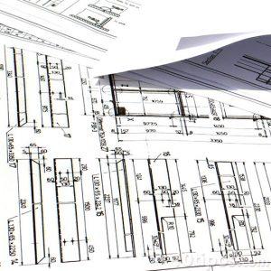 Planos de construcción con medidas