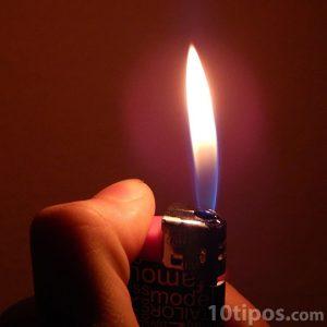 Encendedor que funciona con electricidad