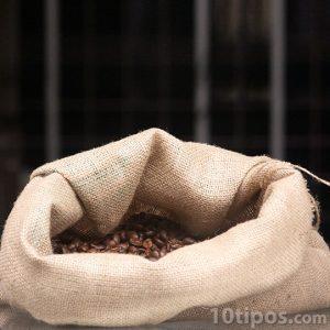 Saco de café tostado