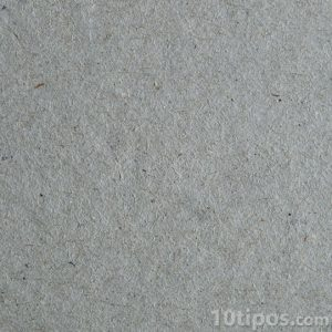 Cartón gris que se usa para dibujar