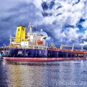 Barco listo para zarpar