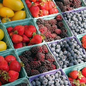 Frutas frescas para su venta
