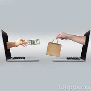 Entrega de mercancía por dinero