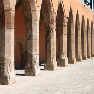Columnas de piedra