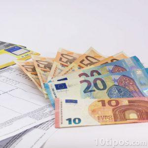 Pagos de facturas con euros