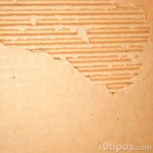 Cartón corrugado y su interior