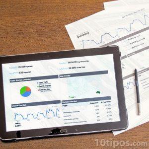 Proyecciones de datos visualizados en gráficas