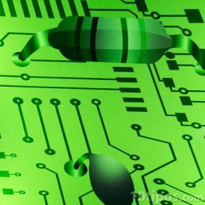 Representación de circuito electrónico