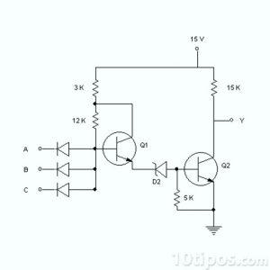 Dibujo de un diagrama eléctrico
