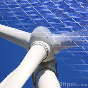 Molino de viento para generar electricidad