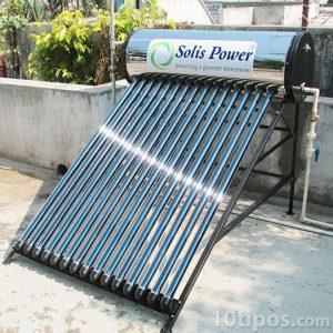 Calentador solar para agua caliente