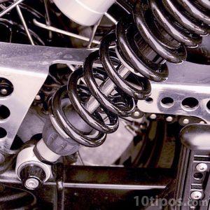 Amortiguador de acero para motocicleta
