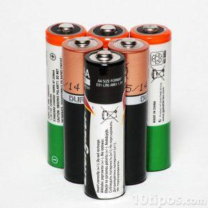 Baterías tamaño doble A para dispositivos portátiles