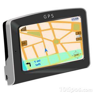 Mapa en GPS para carro