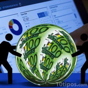 Gráfica y recursos en euros