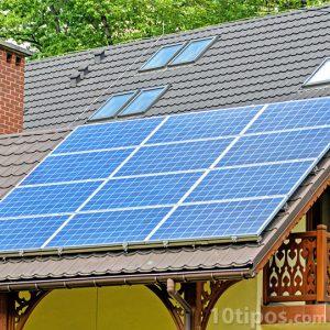 Celdas solares instaladas y en uso