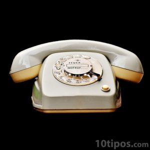 Teléfono de mediados de los 80's