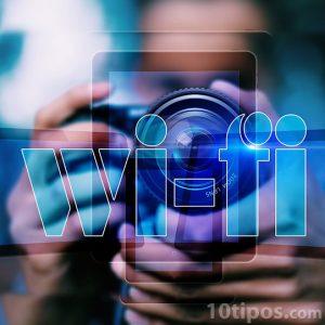 Imagen con dispositivos con wifi