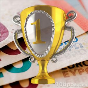 Imagen de copa de oro
