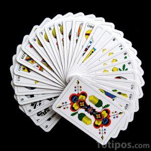 Cartas o naipes para jugar