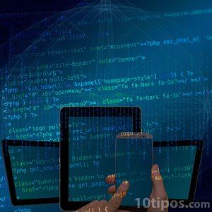Diversidad de dispositivos que utilizan código