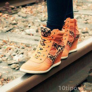 Zapatillas de mujer con motivos de animales