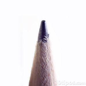 Acercamiento de lápiz hecho de grafíto