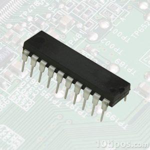 Componente de computadora llamado chip