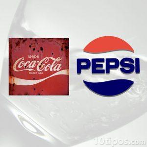 Marca de las principales bebidas de cola