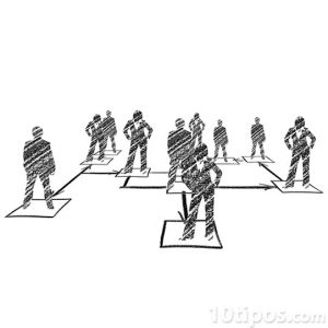 Trabajadores de una empresa