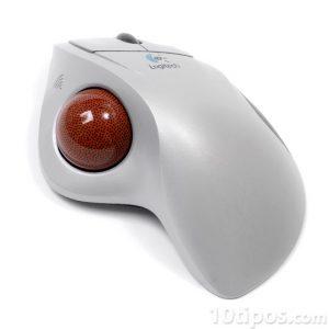Mouse con esfera en la parte superior