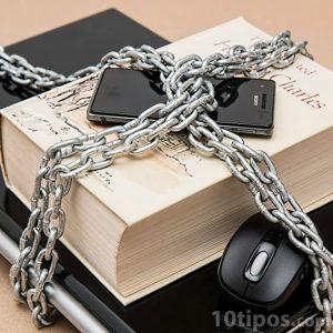 Productos protegidos por una cadena