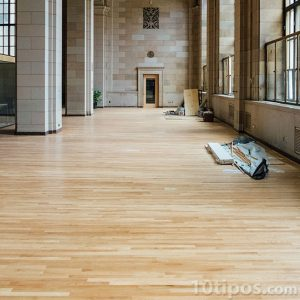 Repación del piso de madera
