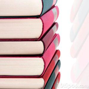 Libros de diferentes colores
