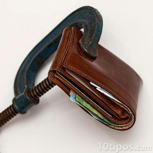 Problemas financieros