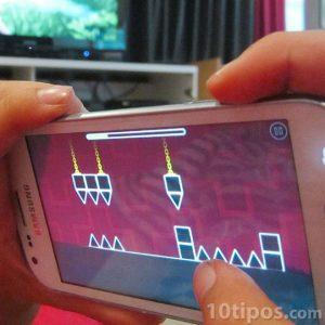 Video juego de destreza