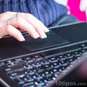 Uso de laptop