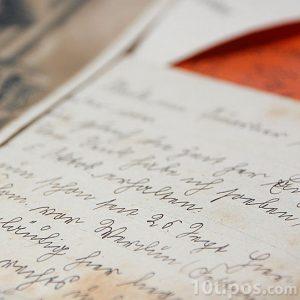 Carta escrita a mano