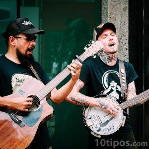 Músico en la calle