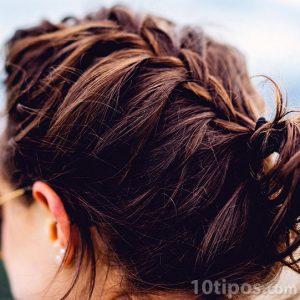 Trenza hecha de cabello