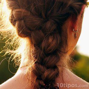 Peinado tipo cola de caballo