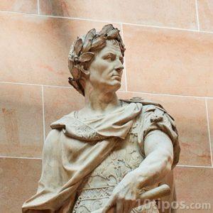 Estatua Romana en mármol