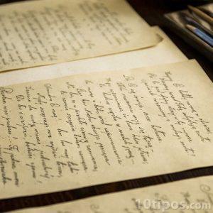 Cartas escritas a manos