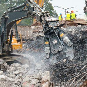 Demolición de una edificación