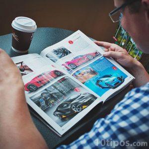 Publicación de automóviles de lujo