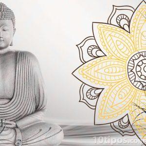 Mandala con color