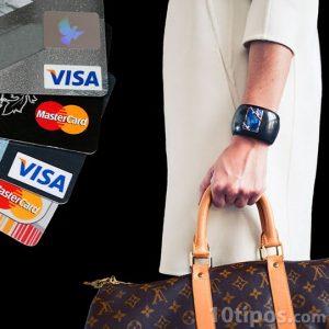 Pago de productos con tarjetas bancarias