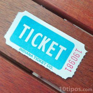 Ticket de cine